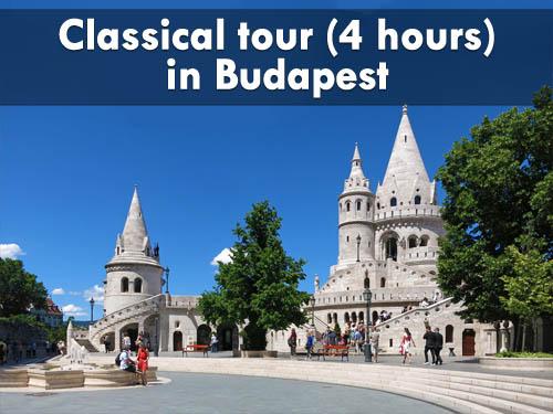 Budapest tour 4 hours