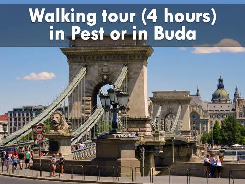 Walking tour in Pest or in Buda