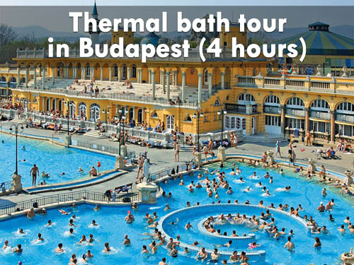 Thermal bath tour in Budapest