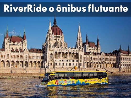 RiverRide – o ônibus flutuante
